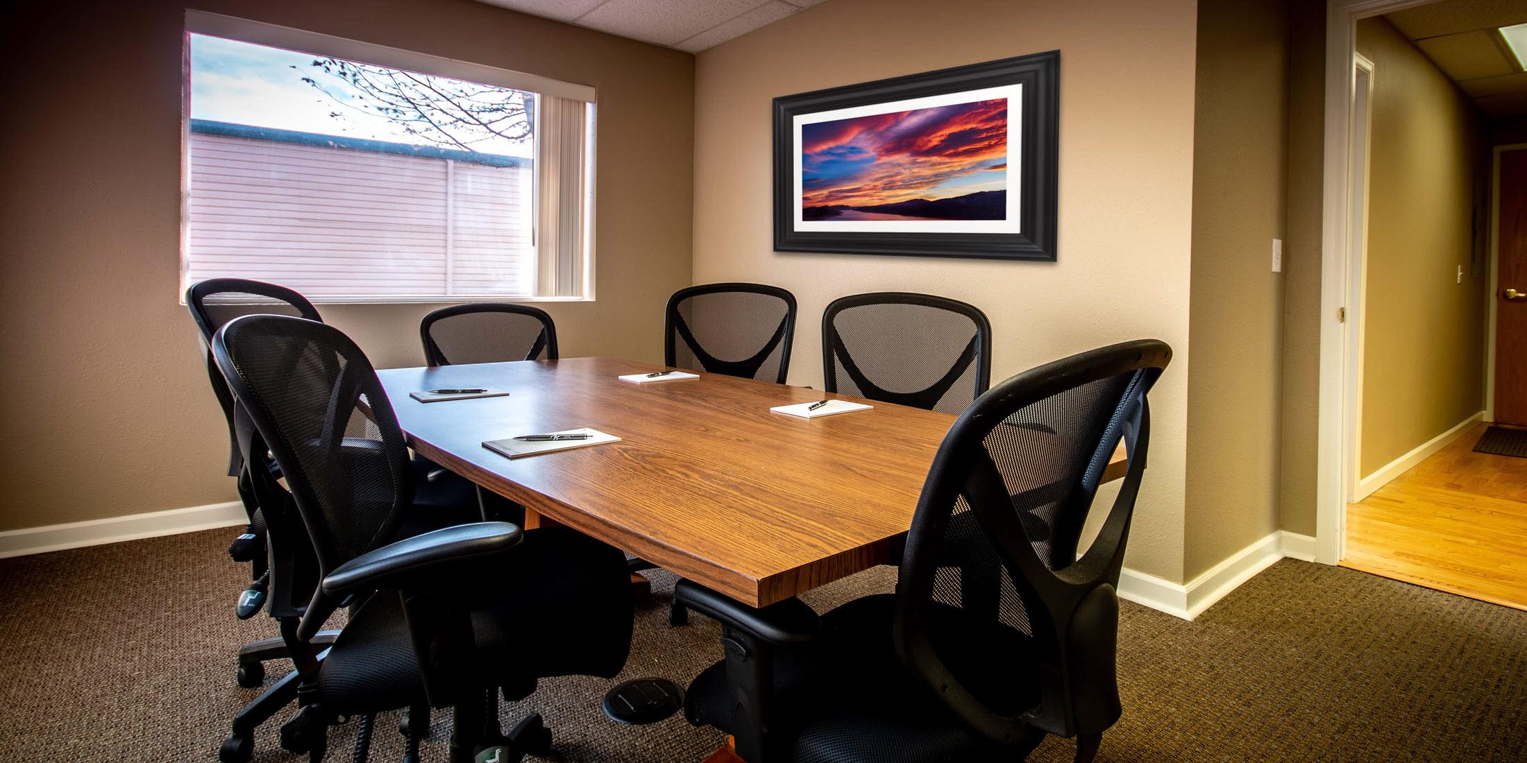Rams Suite Fort Collins meeting room